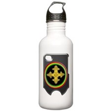 rasta ethiopia cross i Water Bottle
