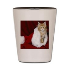 SH Kitty tile Shot Glass