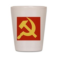 Communist_ClothesCircle Shot Glass