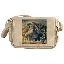 (sq) Rome-Piazza Messenger Bag