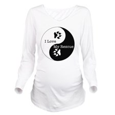 YY-rescue Long Sleeve Maternity T-Shirt