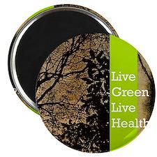 live green calendar Magnet