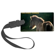 icehorsesbig Luggage Tag