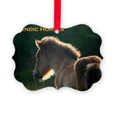 icehorsesbig Ornament