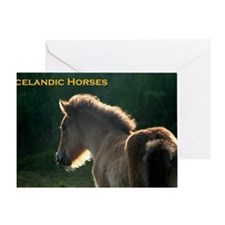 icehorsesbig Greeting Card