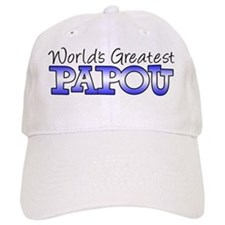Worlds Greatest Papou Baseball Cap