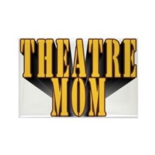 Theatre Mom Rectangle Magnet (10 pack)