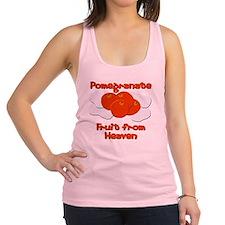organic pomegranate fruit Racerback Tank Top