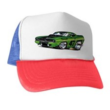 70CudaGreenRace Trucker Hat
