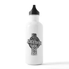 death cross dark Water Bottle