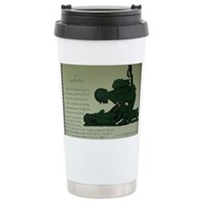CombatMedicPrayer Ceramic Travel Mug