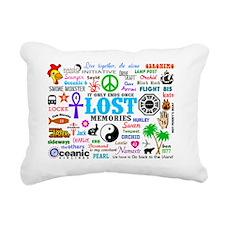 LOST SmPoster Rectangular Canvas Pillow