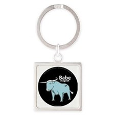 Babe_magnet ( fixed ) Square Keychain