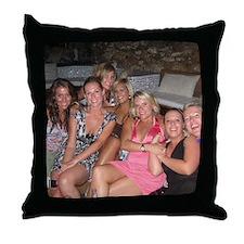 evas secret santa Throw Pillow