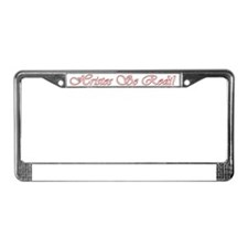 HristosSeRodi License Plate Frame