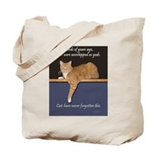 Orange Kitty Ginger Cat Tote Bag