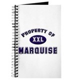 Property of marquise Journal