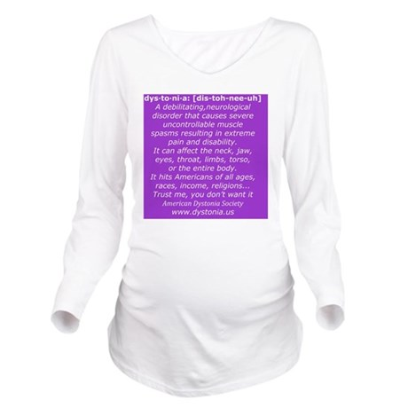 ADSTShirt2 Long Sleeve Maternity T-Shirt