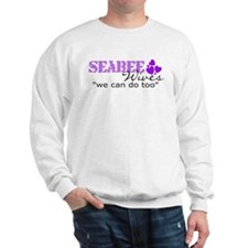 "Seabee Wives ""we can do too"" Sweatshirt"