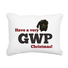 Baldwin Christmas Rectangular Canvas Pillow