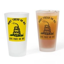 DTOM Calendar Drinking Glass