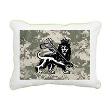 steelo patch Rectangular Canvas Pillow