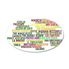 operas Wall Decal