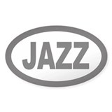 Jazz Car Oval Decal