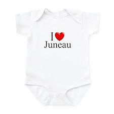 """I Love Juneau"" Infant Bodysuit"