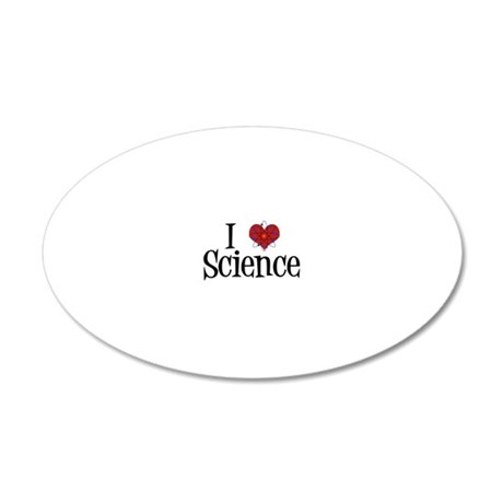 ilovescience 20x12 Oval Wall Decal
