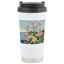 Hokusai fuji Ceramic Travel Mug