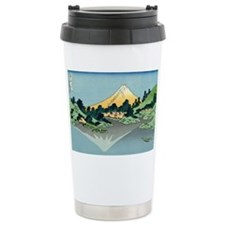 mount fuji hokusai Ceramic Travel Mug