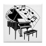 The Piano Tile Coaster