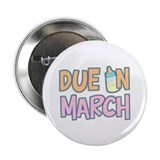 Due In March Girl Button