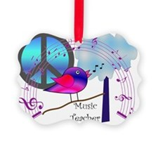 Music Teacher Ornament