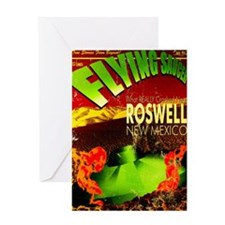 Roswell Poster Greeting Card