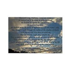 psalm23print14x10 Rectangle Magnet