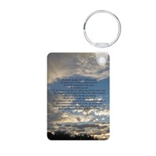 psalm23journal Keychains