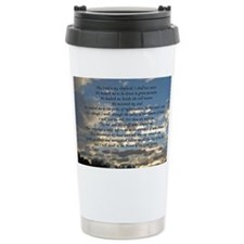 psalm23card Ceramic Travel Mug