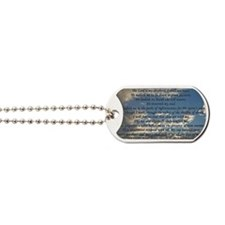 psalm23framedprint Dog Tags