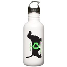 phone.recycle.heart Water Bottle