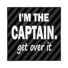im the captain blanket Queen Duvet