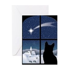 cpsilent_stocking Greeting Card
