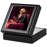 Benjamin Franklin Keepsake Box