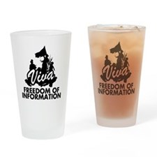 viva-freedom-of-information Drinking Glass