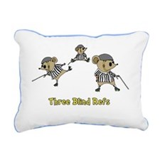 3_blind_refs-square Rectangular Canvas Pillow