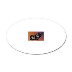 melissas guinea pig1 20x12 Oval Wall Decal