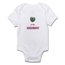 Unique Candy heart Infant Bodysuit
