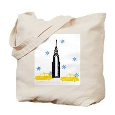 NYC Holiday Tote Bag
