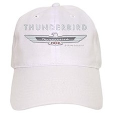 T Bird Emblem_embossed_1_blk Baseball Cap